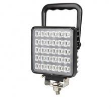 30W LED ЛЕД Диоден Фар Работна Лампа Прожектор С Дръжка и Ключ