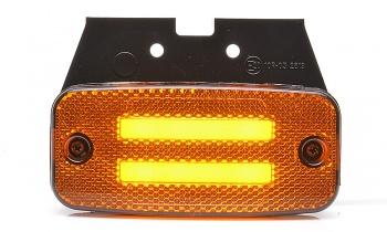 LED Светодиоден Габарит Със Стойка, Маркер, Вграден Рефлектор, Е-Mark, Ефект Неон, Водоустойчив, 12V-24V