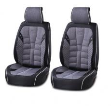 Лукс Универсална Кожа и Плат Тапицерия / Калъфи за предни седалки