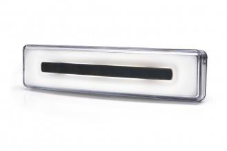LED Светодиоден Габарит За Сенник На Скания Scania, С Букса, Бял, Е-Mark, Ефект Неон, 12V-24V