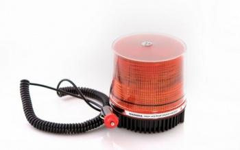 26 Лед 8 вата Сигнална лампа, аварийна, маяк, буркан 12V с магнитно или болтово закрепване, 9лъча