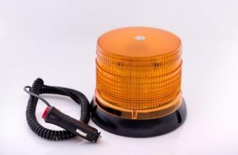 32 Led Лед Сигнална лампа, аварийна, маяк, буркан 12V с магнитна база
