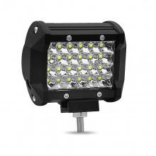 72W Led Bar Лед Бар Диоден Фар Прожектор Халоген 12-24V Spot Light Насочена Светлина