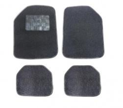 Комплект автомобилни стелки -  Мокет PVC 4 Части Универсални