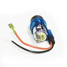 Универсална запалка за автомобил 12V с вградена светеща в синьо светлина 28мм-29мм