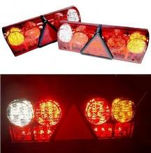 LED стопове мигач задна светлина 12v 24v за камион бус ТИР, ремарке