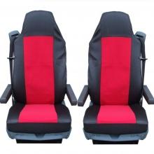 Калъф/тапицерия за седалки за MERCEDES AXOR, ATEGO, ACTROS, Червени