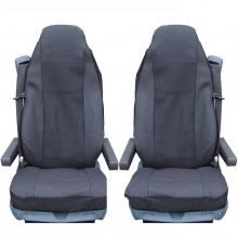 Калъф/тапицерия за седалки за SCANIA R 620, 580, 560, 440, 500, 480, Черни