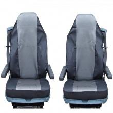 Калъф/тапицерия за седалки Flexzon за SCANIA R 620, 580, 560, 440, 500, 480, Сиви