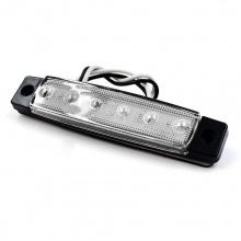LED Светодиодни габарити, токоси, рибки 12v  бели