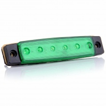 LED Светодиодни габарити, токоси, рибки 12v зелени