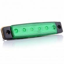 LED Светодиодни габарити, токоси, рибки 24V зелени