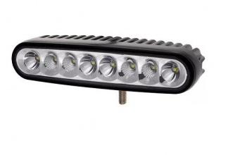 16 См 24W Мощен Лед Диоден Бар 8 Led Халоген Лампа Прожектор 12V 24V