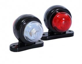 1 Брой LED мини светлини тип рогче за камион 24V