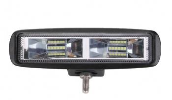16 См 36W Мощен Лед Диоден Бар 12 Led Халоген Лампа Прожектор 12V 24V