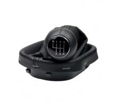 Tопка Скоростен Лост С Маншон Кожен Кожух За VW Caddy 03-10 6 Скорости + Задна