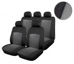 Универсална Авто тапицерия, калъфи за седалки, пълен комплект, 9 части