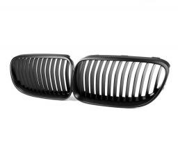 Бъбреци Решетки За БМВ BMW Е92 Е93 2010 2013 Черен Мат Фейслифт Facelift