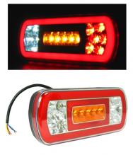 Диоден LED Лед Неон Стоп 12V -  Бус Камион Тир Ремарке Караванa Платформа