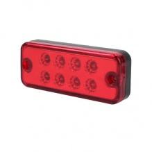 8 LED Червени - Диодни Лед Габарити / Светлини / Токоси - 99mm x 40mm - 24V