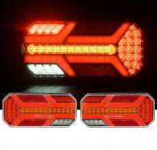 Комплект LED ЛЕД Диодни Стопове, Динамичен Мигач, 7 Функции, 12/24V
