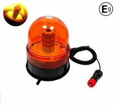 LED Лед 12V 24V Сигнална Аварийна Лампа Маяк Буркан С Магнит И Вакуум
