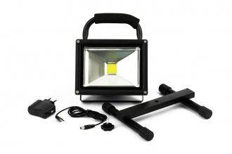 Портативна Акумулаторна Мощна 20W Работна Лампа Водоустойчива Разпръсната Светлина 115 Лумена Дом Градина Строителство Къмпинг