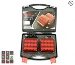 Безжични Wireless с Mагнит 12-24v Лед Led Червени Светлини за Ремарке