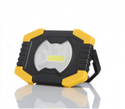 Мощна 100W Преносима Соларна Диодна LED Лед Лампа , Прожектор, Фенер, Акумулаторно USB Зареждане, За Автомобил, Къмпинг, Лов и Риболов