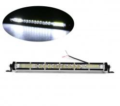 33 см LED Лед Диоден Бар , 4500 lm, 90W, Ултра Тънък, 12-24V, Комбинирана Combo - Flood и Spot Светлина