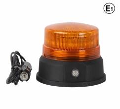 Акумулаторна Сигнална LED Лед Диодна Лампа, Буркан, 12V, 24 Диода, Презареждаща се Батерия, Магнит, Е-Mark