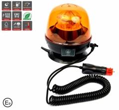 Акумулаторна Сигнална LED Лед Диодна Лампа, Буркан, Магнит и Вендуза, 12-24V, 10 SMD Диода, Презареждаща се Батерия, Е-Mark