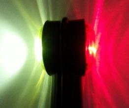 2 броя 24V LED Диодни Странични Рогчета Маркери Габарити Светлини За Камион Тир Ремарке