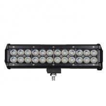 """30см 7600lm 72W LED Бар, Насочена """"Spot"""" Светлина, 12V 24V, Регулируемо Долно Захващане"""