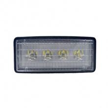 16.5cm 20W PRO ЛЕД Диоден Халоген LED Лампа 1700lm Трактор, Комбайн