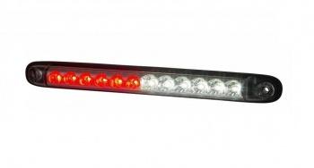 LED Лед Мултифункционална Светлина, Червена - Габарит, Стоп и Бяла - Заден Ход, 12V - 24V, E-Mark