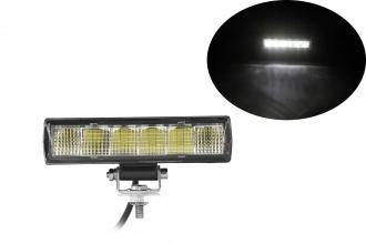 15,4 См LED Лед Бар с Комбинирана Combo Светлина, Е-Mark, 18W, 6 LED, 1500lm, 12V-24V, Автомобил, АТВ, Джип, 4х4, SUV, Offroad, Камион,Ролбар