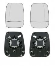 Комплект Ляво и Дясно Стъкло За Странично Огледало с Подгрев За Рено Трафик Renault Traffic 2014+ , Опел Виваро Opel Vivaro 2014+