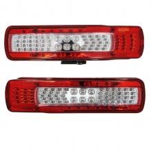 Комплект LED Лед Стопове Диодни със Светлина За Номер, Зумер Заден Ход, 24V,  За Волво Volvo FH4 2013+
