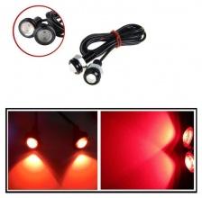 Комплект дневни DRL LED Eagle Eye червени светлини 12V, 2 бр.