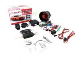 Универсална алармена система с дистанционно централно заключване с 2 дистанционни (RT7)