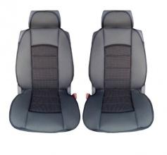 Универсални калъфи/тапицерия за предни седалки, Масажор, Черни
