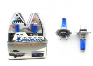 Комплект авто-крушки ксенон ефект (бяла светлина) H1
