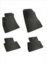 Комплект качествени гумени стелки за Nissan Juke Нисан Джук 2010+