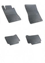 Комплект гумени стелки за Мерцедес Е Mercedes E W211 02-09 CLS 04-10
