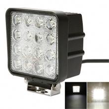 16 LED 48W Халогени Водоустойчиви Светлини Работни Лампи 10-30V за Ролбар АТВ, Джип
