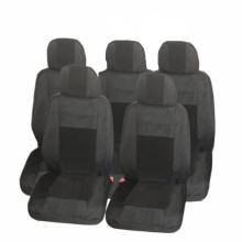 Калъфи/тапицерия Flexzon за Ford S-MAX, C-MAX, VW Touran, Sharan, Toyota Corolla Verso, Текстил, Черна