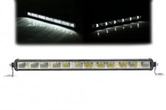 52 См LED Лед Бар с Насоченa SPOT Светлина, Три Функции, Е-Mark, 60W, 4800lm, 12V-24V, Автомобил, АТВ, Джип, 4х4, SUV, Offroad, Камион,Ролбар