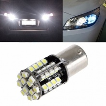 LED Лед Крушки, 44 SMD, Canbus, 1156 (P21W), 12V, Бяла Светлина