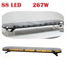 Аварийна, сигнална ЛЕД лампа, 88 LED бар, 267W, 16 Функции, 12/24V